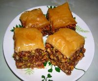 Baklava iin yufka nasl alr?