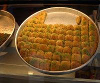 Baklava nasl dilimlenir?